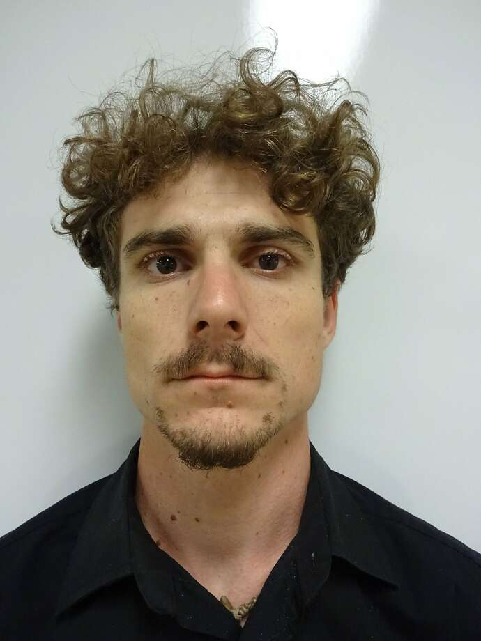 Royce Sterling Moore, 26, of Lakeport was arrested inside the Valley Fire evacuation area on suspicion of possessing burglary tools. Deputies think he was prepared to burglarize the abandoned homes of fire evacuees. Photo: Lake County Sheriff's Office