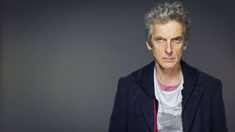 Actor Peter Capaldi plays the Doctor's current incarnation: cantankerous, big-hearted, goofy, well-meaning and sometimes mean. Photo: BBC America
