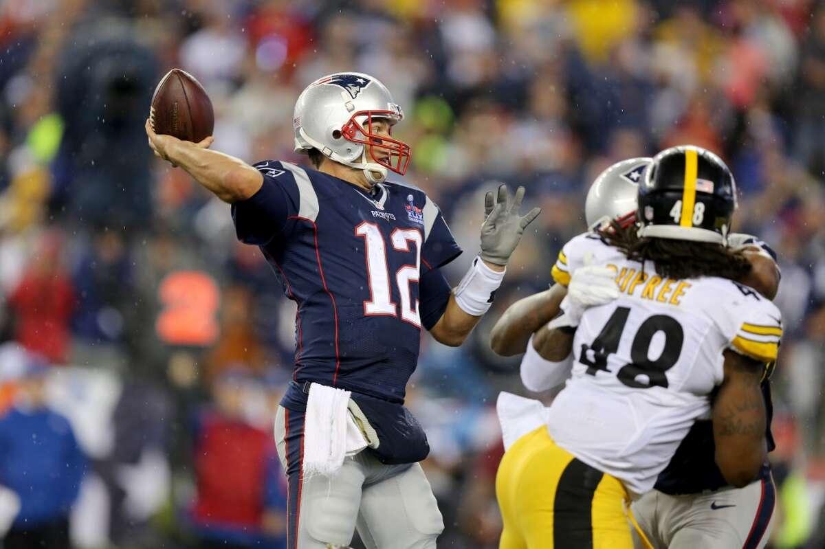 2. Patriots quaterback Tom Brady
