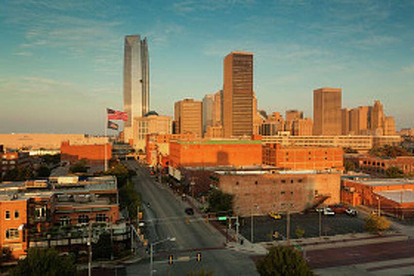 10. Oklahoma City, Oklahoma Unemployment rate: 3.4 percent Notable jobs: Tinker Air Force Base, State of Oklahoma, FAA Mike Monroney Aeronautical Center