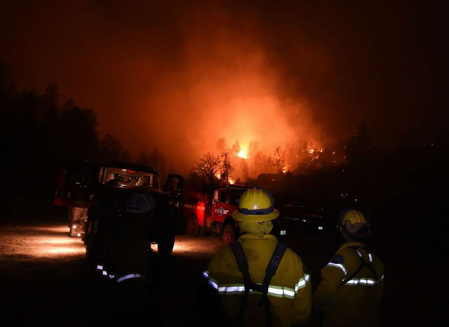 Firefighters risked their lives to battle the Valley Fire and save people and property in Middletown and other Lake County towns last month. Photo: Mark Ralston, AFP / Getty Images