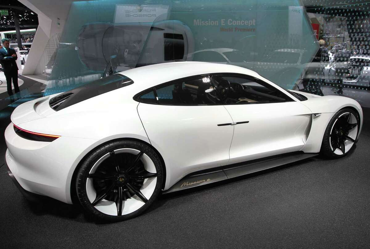 German carmaker Porsche previewed a concept luxury electric car, the Mission E, with a 600 horsepower engine and top speeds of 250 kph (155 mph.) With its silent, zero-emission powertrain, it can easily whizz by before you hear it coming. With this car, Porsche clearly trying to edge into territory occupied mostly by the California-based pioneer Tesla. But while the Porsche claims the Mission E has a 500 kilometer (310 mile) range, the real issue remains infrastructure. German drivers taking an Italian holiday need to be sure they can get a charge to get back again. The Mission E comes equipped with some top technological tricks. The car can read gestures and facial expressions, and even post a smiley emoticon to social networks if it picks up cheerful facial expressions. Porsche says the Mission E is expected in dealership within five years.