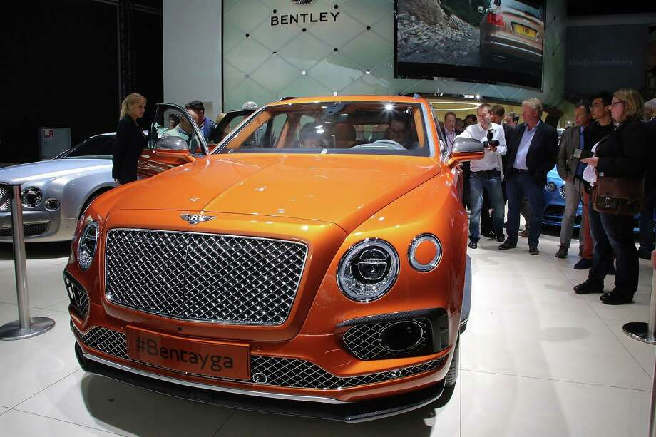 FRANKFURT AM MAIN, GERMANY - SEPTEMBER 15:  The new Bentley Dawn stands at the Bentley stand at the 2015 IAA Frankfurt Auto Show during a press day on September 15, 2015 in Frankfurt, Germany. The IAA, Germany's biggest auto show, which takes place every two years, will be open to the public from September 17 through 27. Photo: Hannelore Foerster, Getty Images / 2015 Getty Images