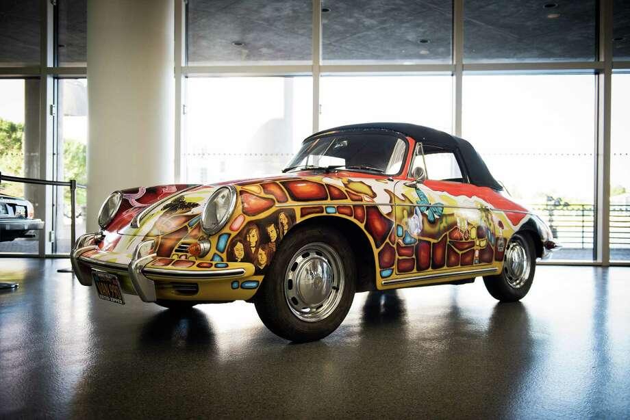 Janis Joplin 1965 Porsche 356C 1600 Cabriolet