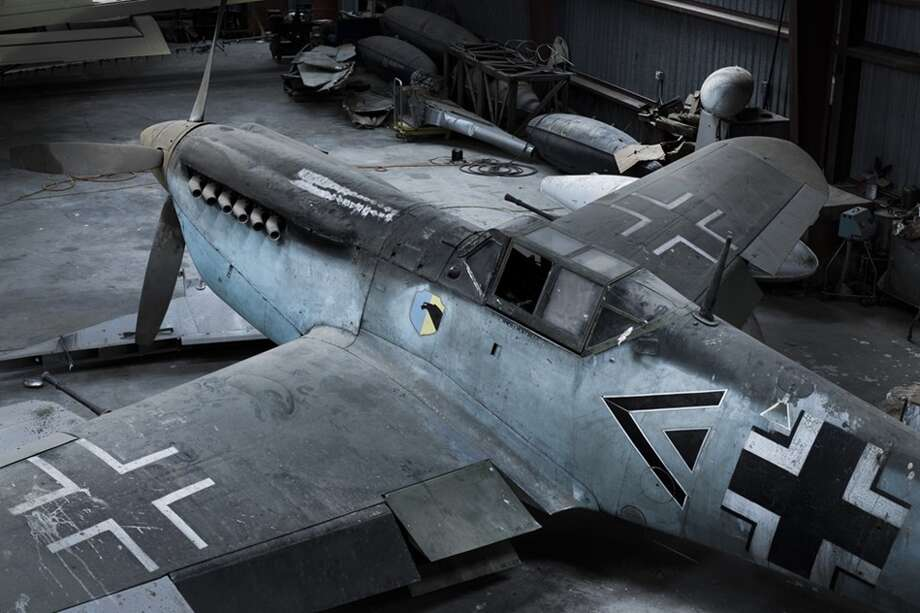 A world-class collection of antique war planes, including one that fended off a Nazi attack on Britain 75 years ago, sat dusty in the hangar of a West Texas oilman for decades. Photo credit: Chris Rose / Aircraft Owners and Pilots Association Photo: Chris Rose / Aircraft Owners And Pilots Association