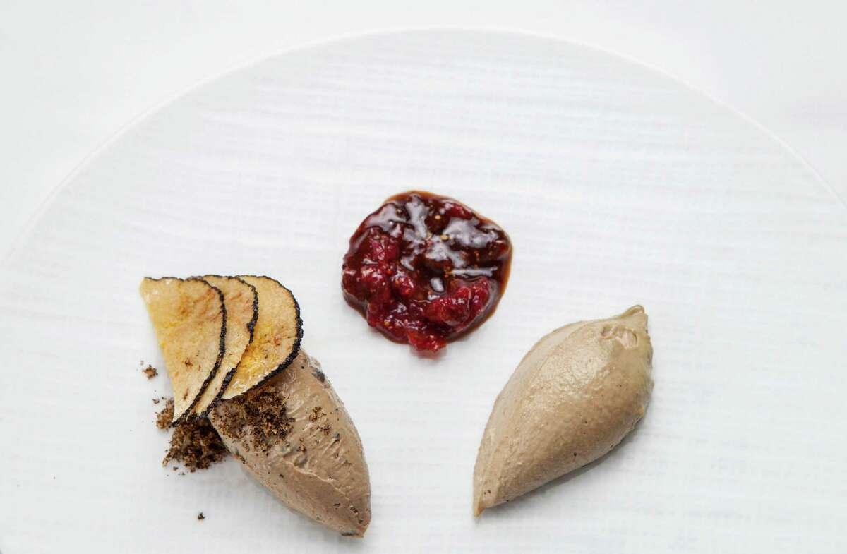 Tony's: Pate with fig mostarda