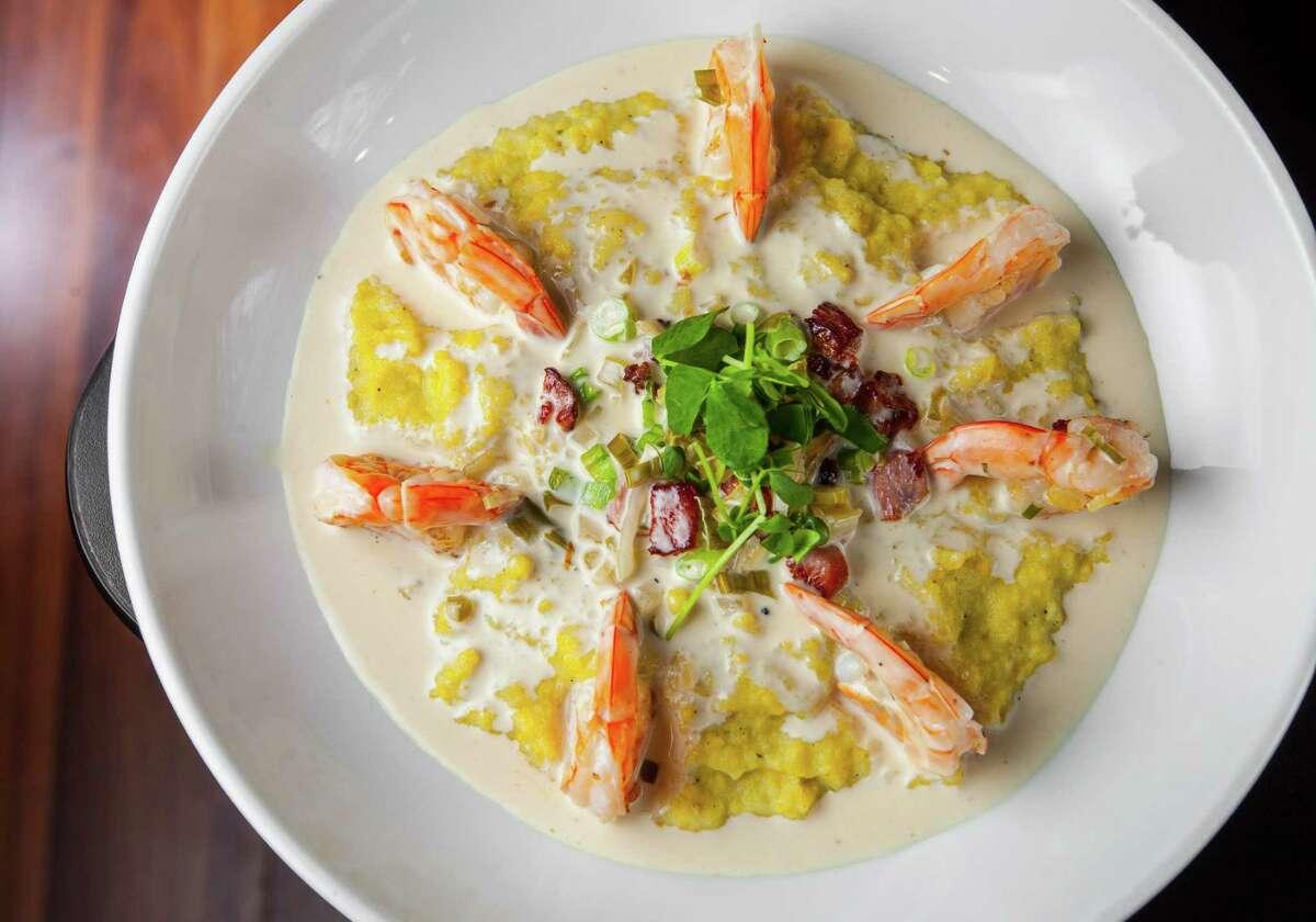 Shrimp and gritsat Kitchen 713.