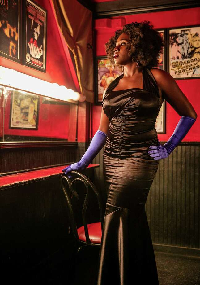 Blue Reine, a burlesque producer and performer, photographed in the dressing room at One Eyed Jacks in New Orleans on Tuesday, September 8, 2015. ((Chris Granger, NOLA.com | The Times-Picayune)RELATED: Burlesque Fest brings the sexy back to Houston ... Photo: Chris Granger, NOLA.com,  The Times-Picayune / CHRIS GRANGER