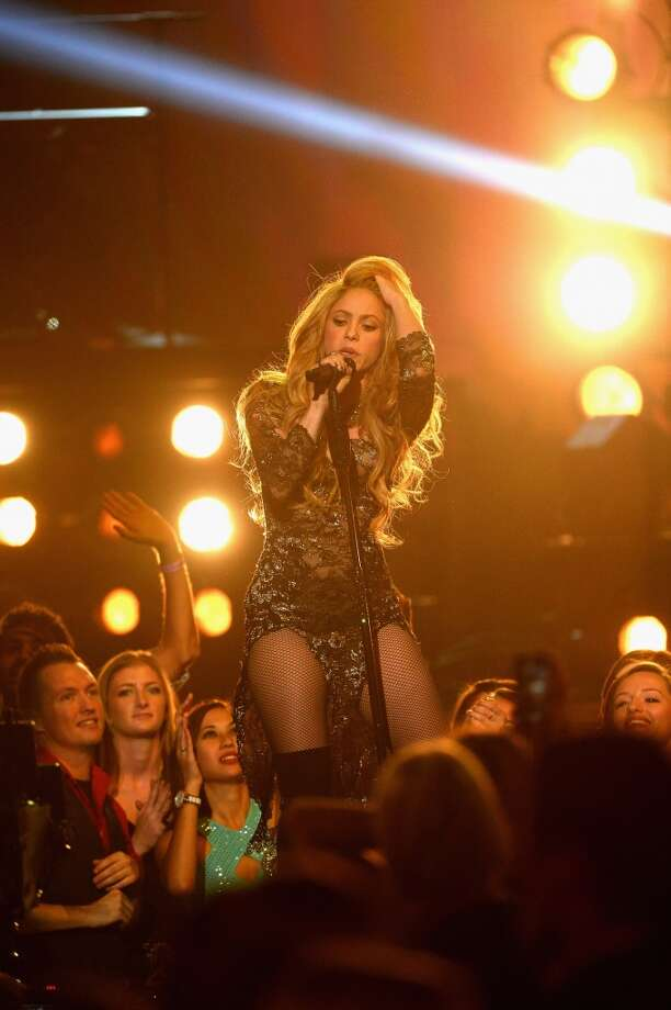 The start of Shakira's El Dorado World Tour hit a snag earlier when the singer suffered a hemorrhage on one of her vocal cords. Photo: Ethan Miller, Getty Images
