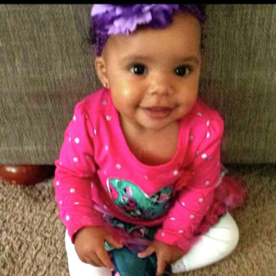Malijha Grant, 1, pictured in a family photo provided by CrimeStoppers. Malijah was killed in an April 16, 2015, shooting in Kent, a Seattle suburb. DeMartrae Kime, 26, is on trial for her death. Photo: CRIMESTOPPERS