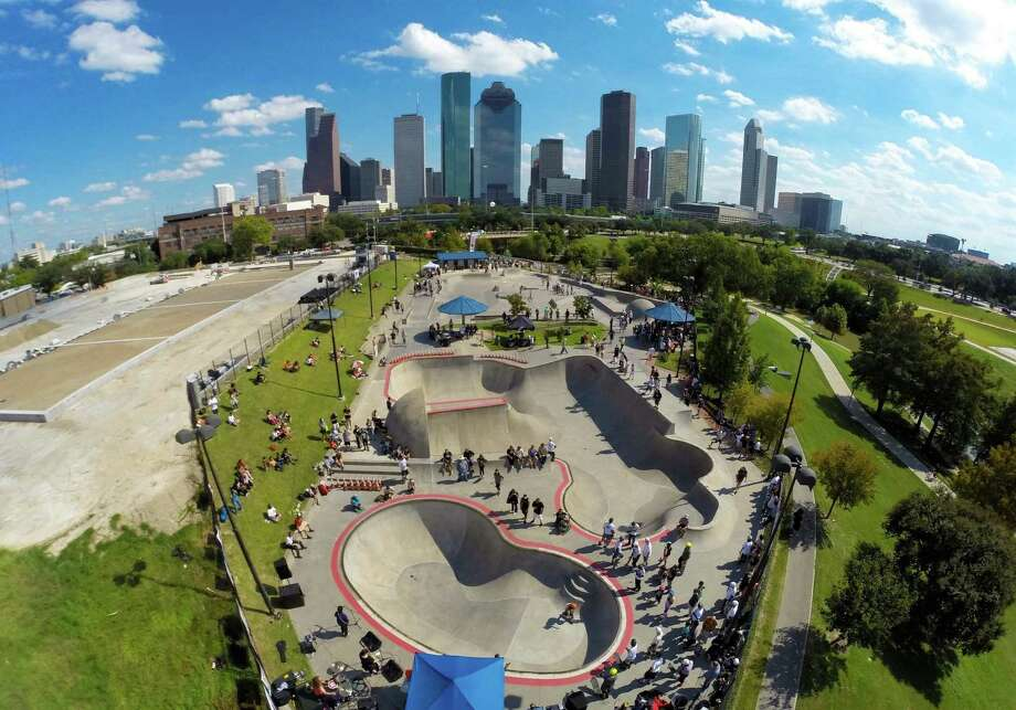 Skate punk Talk Sick Brats and Khobretti will perform at Punk Rock Pool Party II at the Lee and Joe Jamail Skatepark on Buffalo Bayou. The concert is part of a free series of events that marry Houston's dynamic skateboard and music scenes. When: 6-9 p.m. Saturday Where: 103 Sabine Information: sk8rocks.wordpress.com Photo: Lance Childers