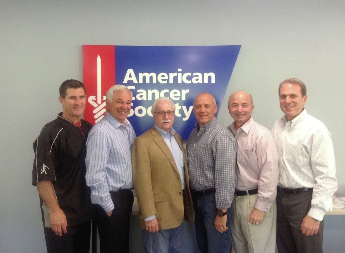 Chairpersons (from left to right) Frank Ramppen, Bobby Valentine, Steve Folb, FJ Mercede, Greg Durkin and Steven Wise. Valentine will be roasted at the Italian Center on Sept. 17.