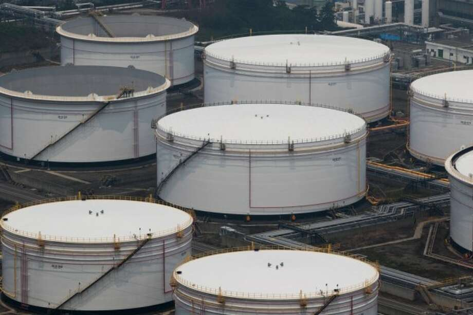 Methanol storage tanks. Chinese-imposed tariffs on methanol, PVC, several types of polymers and aromatics produced in the U.S. will be raised from 10 percent to 25 percent.