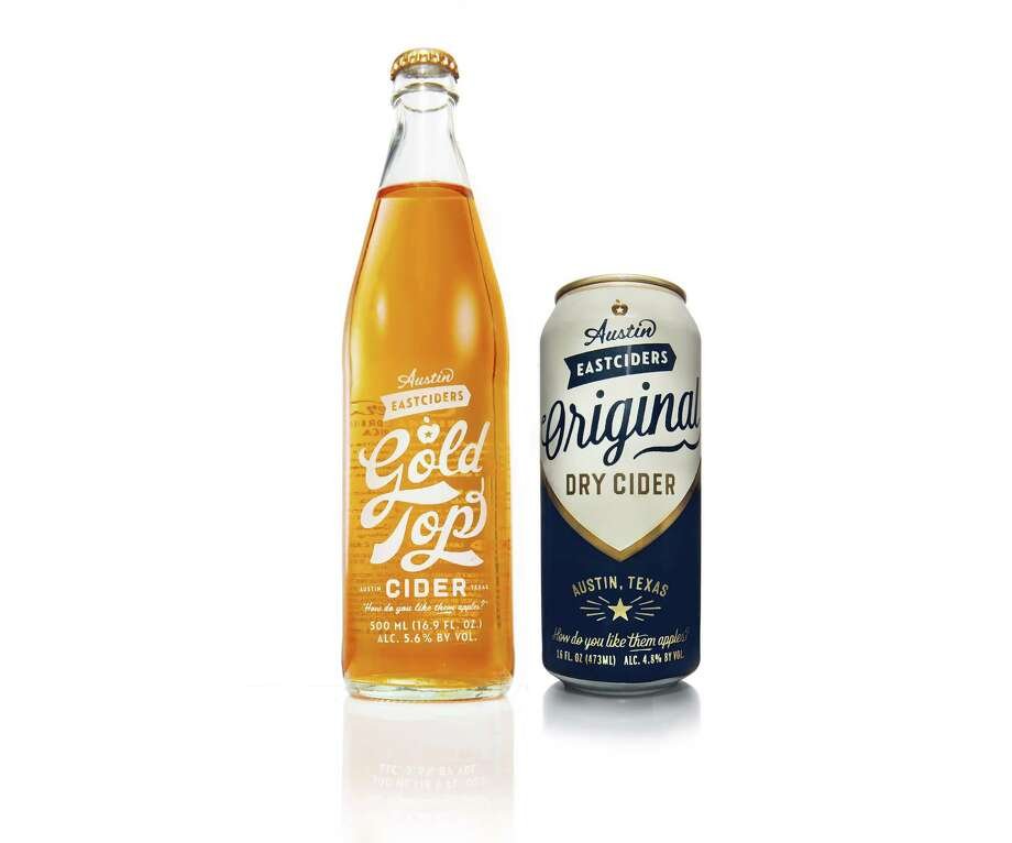 Austin Eastciders' cans and bottles are reminiscent to old-school bottles and cans Miller High Life and Schlitz. Photo: Courtesy Photo