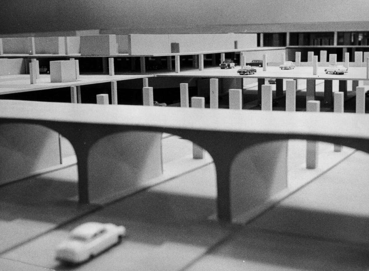 Model of South Mall, undated, Albany, N.Y. (Times Union archive)