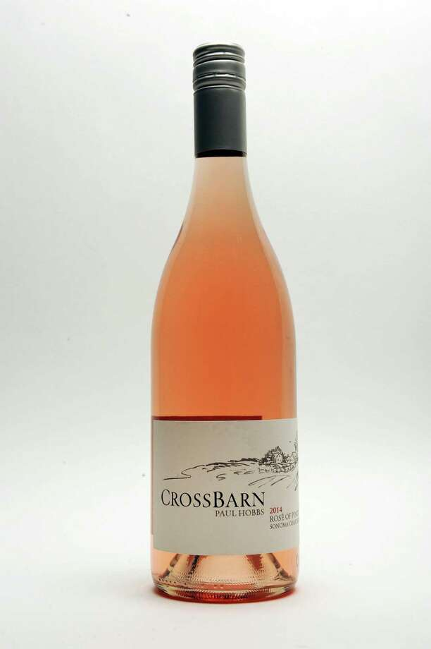Crossbarn Rose of Pinot Noir 2014 in the Times Union studio Thursday July 23, 2015 in Colonie, NY.   (John Carl D'Annibale / Times Union) Photo: John Carl D'Annibale