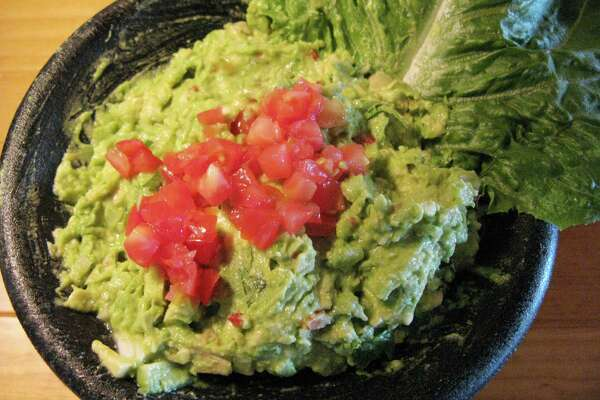 For SA Life Just A Taste: Tableside guacamole at Lupe Tortilla.
