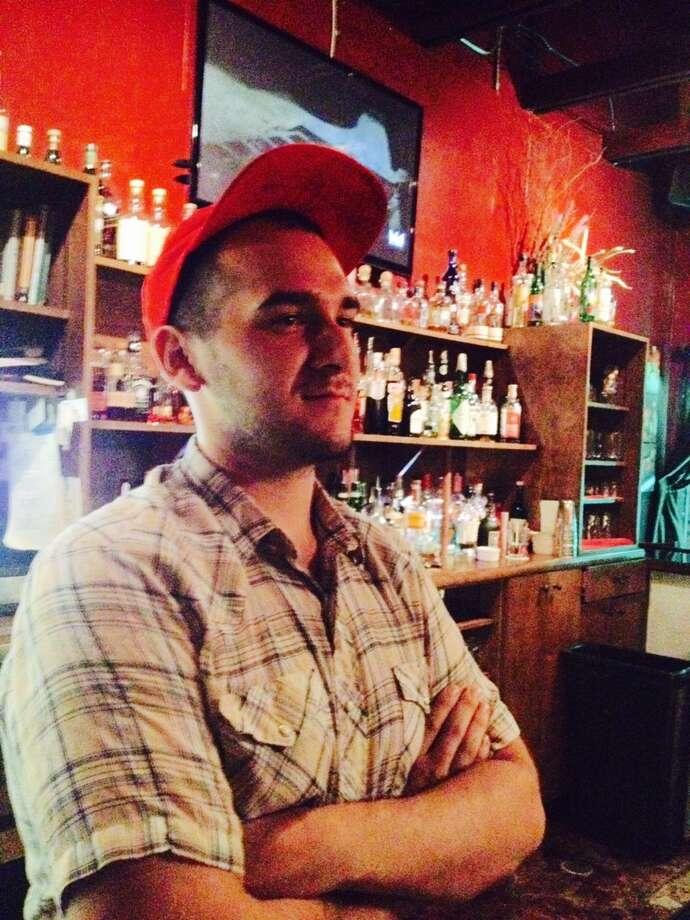 Evan Pinzón bartends at TBA on the N. Saint Mary's Strip Photo: Courtesy Photo