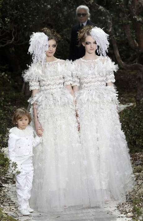 If it's not one wife, it's another, Chanel brides