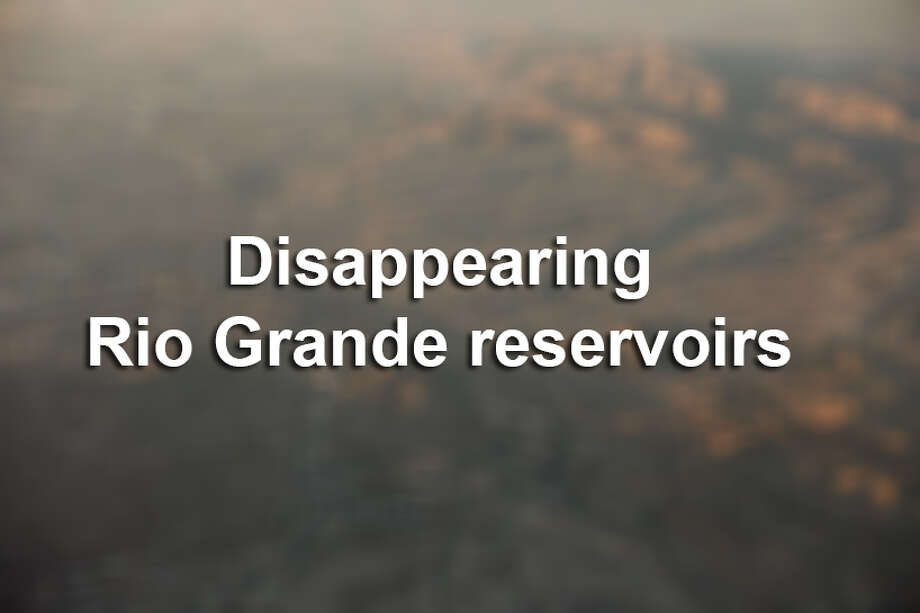 Photos show drought's effect on Rio Grande reservoirs.