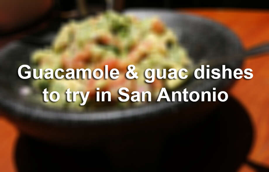 It's National Guacamole Day, which should be every day in San Antonio. Here are some of the restaurants that have won San Antonio Express-News Readers' Choice Awards for their guacamole over the years, as well as other guac-centric dishes to try in the area. Photo: Cynthia Esparza, For The San Antonio Express-News