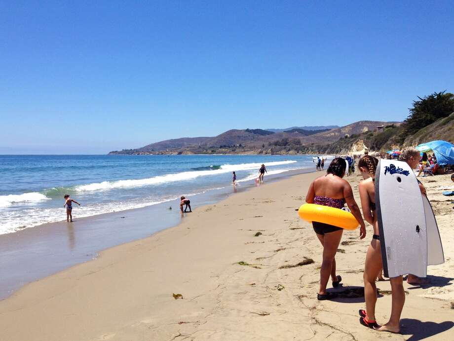 El Capitan State Beach Lies About 25 Minutes North By Highway 1 Directions