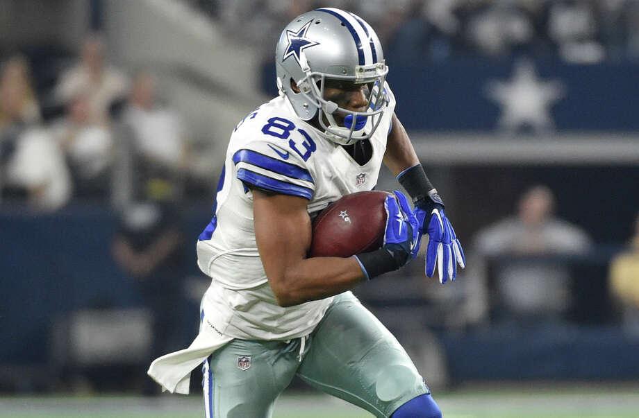 21d223a956b Dallas Cowboys wide receiver Terrance Williams (83) runs during their NFL  football game against
