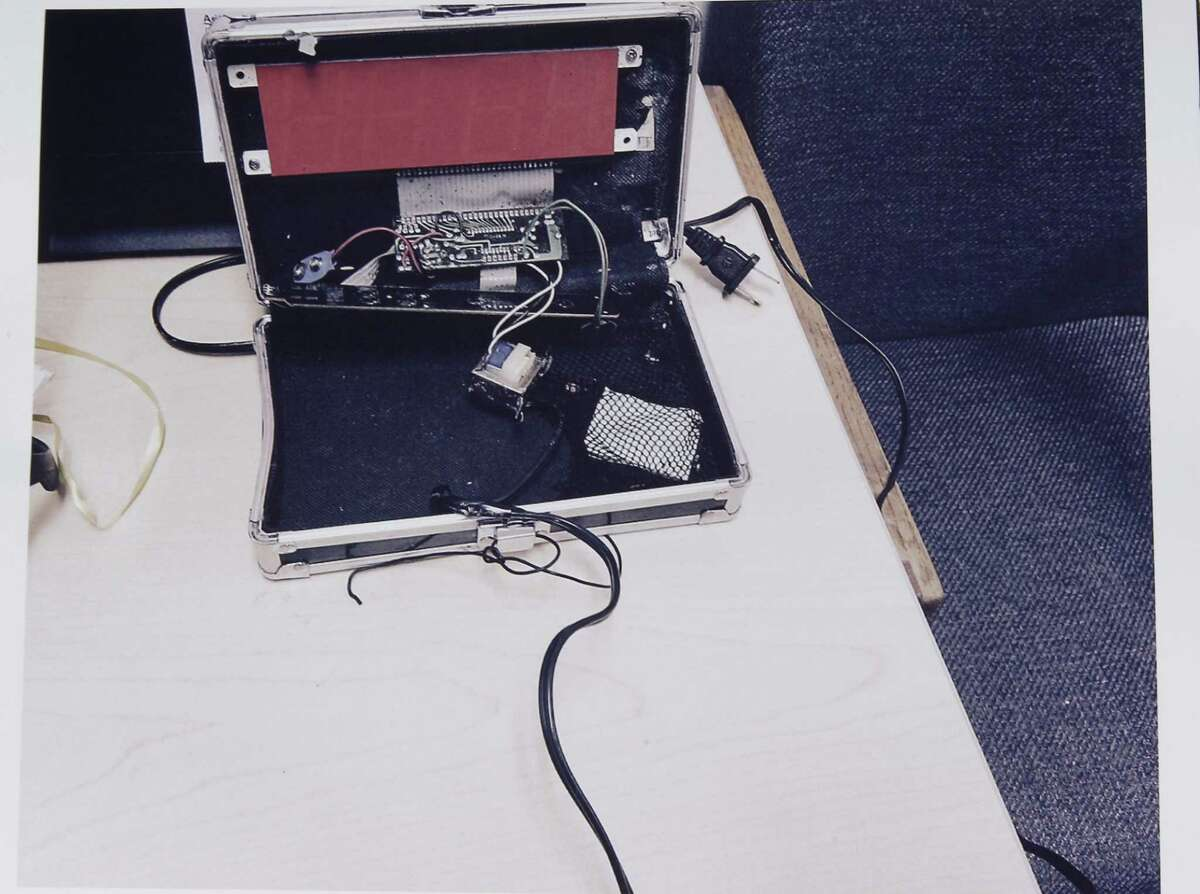 This is the clock that Ahmed Mohamed brought to school, alarming some teachers.