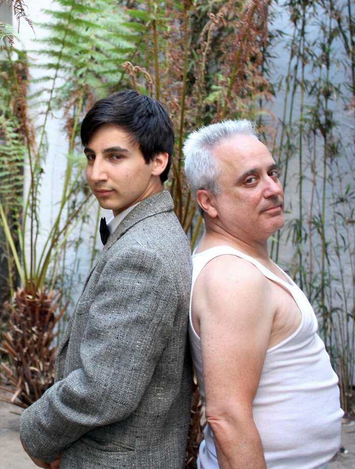 """Asher Sinaiko and his father David Sinaiko appear as the fictional son and father in Cutting Ball Theater's new production of Calder—n de la BarcaÕs classic 17th century play """"Life Is a Dream.""""  Photo by Laura Mason Photo: Laura Mason"""