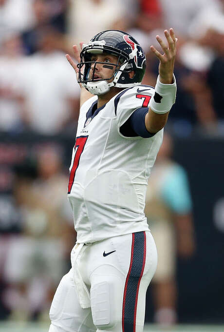 Brian Hoyer may be wondering how he lost his job after only one week. Photo: Karen Warren, Staff / © 2015 Houston Chronicle