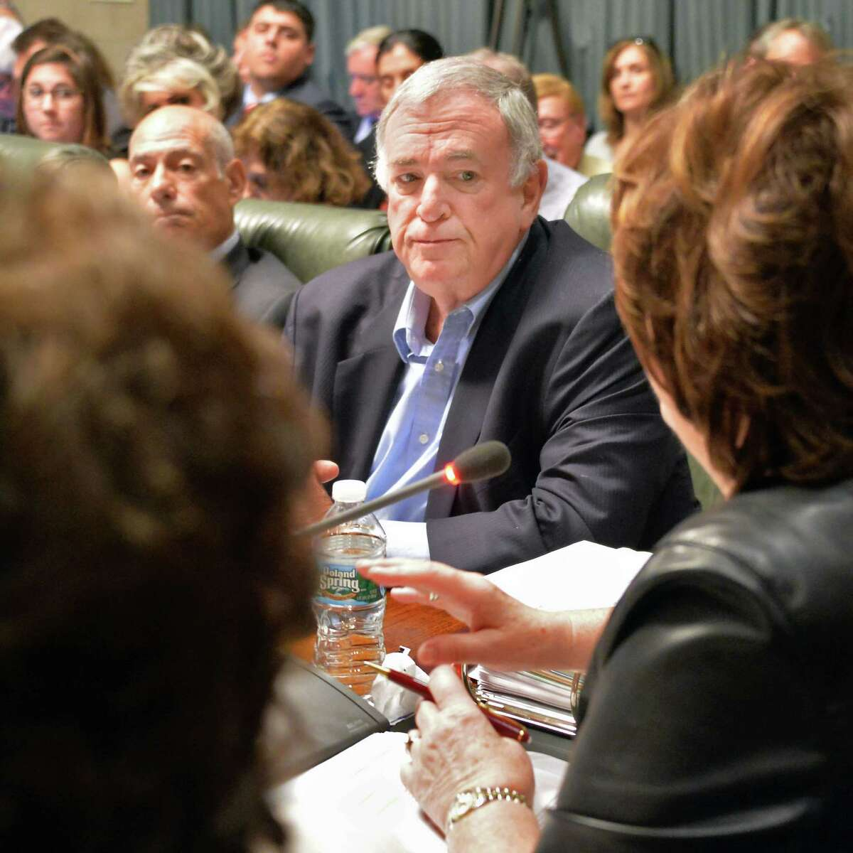 Regent Roger Tilles during a meeting of the NY State Board of Regents at the State Education Building Wednesday Sept. 16, 2015 in Albany, NY. (John Carl D'Annibale / Times Union)