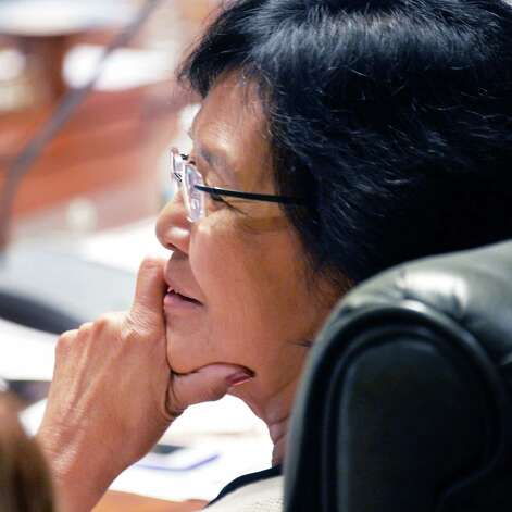 Regent Judith Chin during a meeting of the  NY State Board of Regents at the State Education Building Wednesday Sept. 16, 2015 in Albany, NY.  (John Carl D'Annibale / Times Union) Photo: John Carl D'Annibale / 00033387A