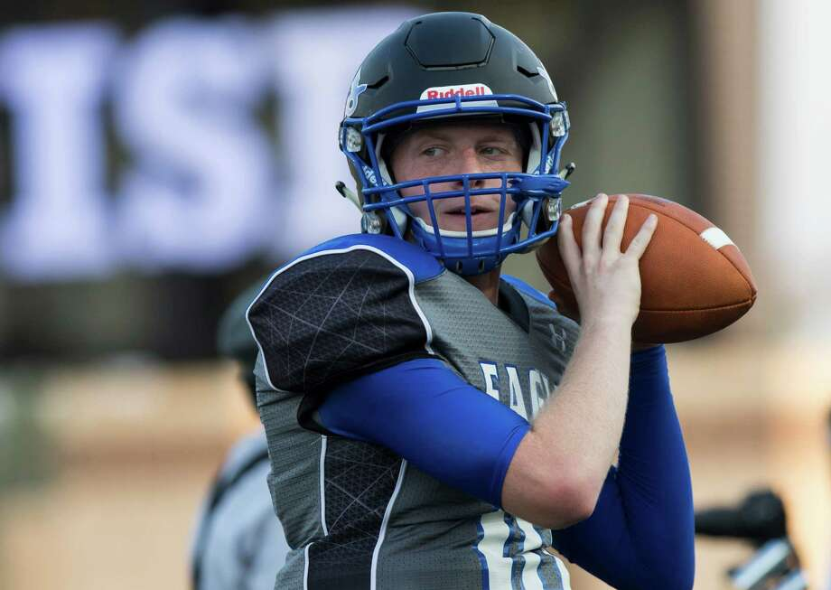 Beware of New Caney's Timmy Ware. With 12 touchdowns and 917 passing yards, the quarterback has led the Eagles to an impressive 3-0 start. Photo: Joe Buvid, Freelance / © 2015 Joe Buvid