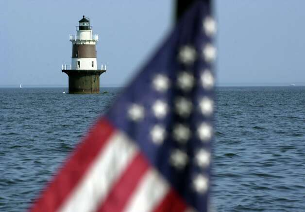 norwalk article peck ledge lighthouse garners