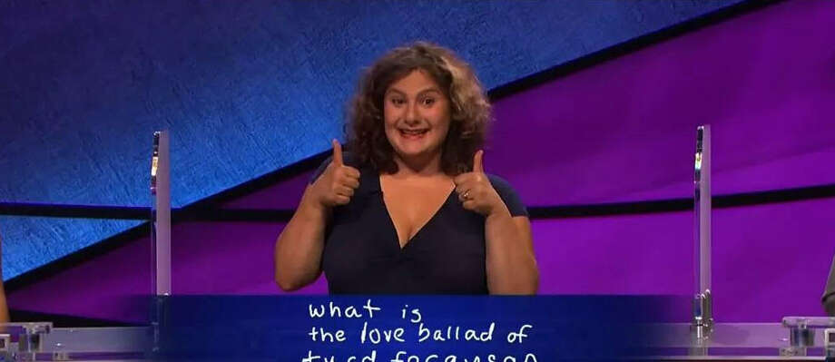 A 'Jeopardy' contestant named Talia managed to get Alex Trebek to say 'Turd Ferguson' on Wednesday's episode. Via YouTube, SmileVid01