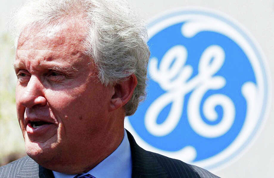 General Electric Chairman and CEO Jeffrey Immelt, in a photo taken last year, met with several members of the state's congressional delegation to listen to their plea for the corporation to keep its headquarters in Fairfield. Photo: Reuters / Reuters / Fairfield Citizen