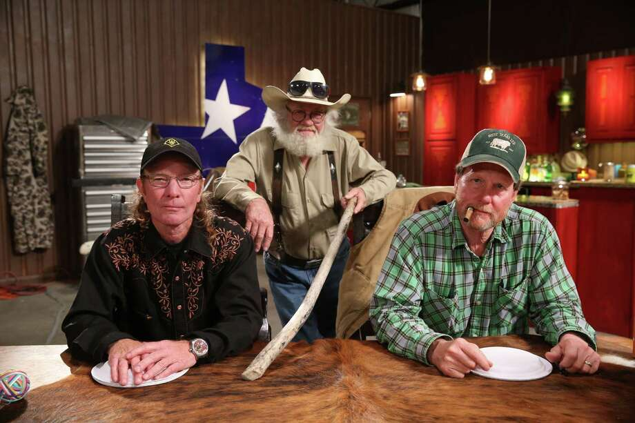 """West Texas Investors Club"" stars the colorfully colloquial good old boys Wayne ""Butch"" Gilliam, from left, Gil Prather and Michael ""Rooster"" McConaughey. Photo: Jesse Grant, CC / 2015 CNBC Media, LLC."