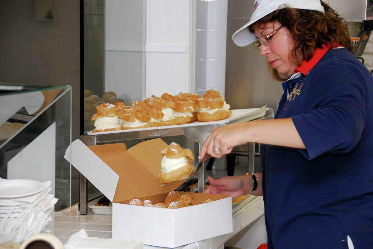 At the Big E, the signature dessert is the cream puff.