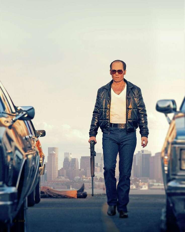 """Johnny Depp portrays legendary Winter Hill Gang leader James """"Whitey"""" Bulger in """"Black Mass."""" Photo: HONS / Warner Bros. Entertainment"""
