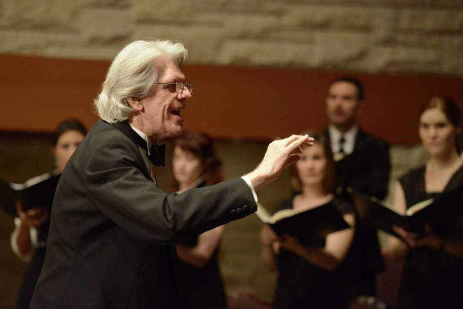 Robert Simpson has been the Houston Chamber Choir artistic director since the group's inception in 1995. Photo: Courtesy Of