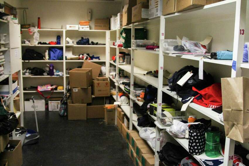 VIA Metropolitan Transit buses here in San Antonio see a large number of lost and found items, which are held at the headquarters near downtown San Antonio for two weeks.