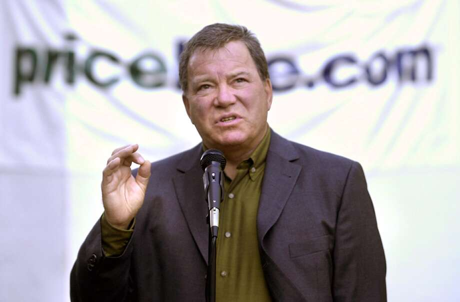 Priceline spokesman William Shatner. Paul Desmarais/ Staff Photo: BUSINESS Photo: PAUL DESMARAIS / ST / SCNI