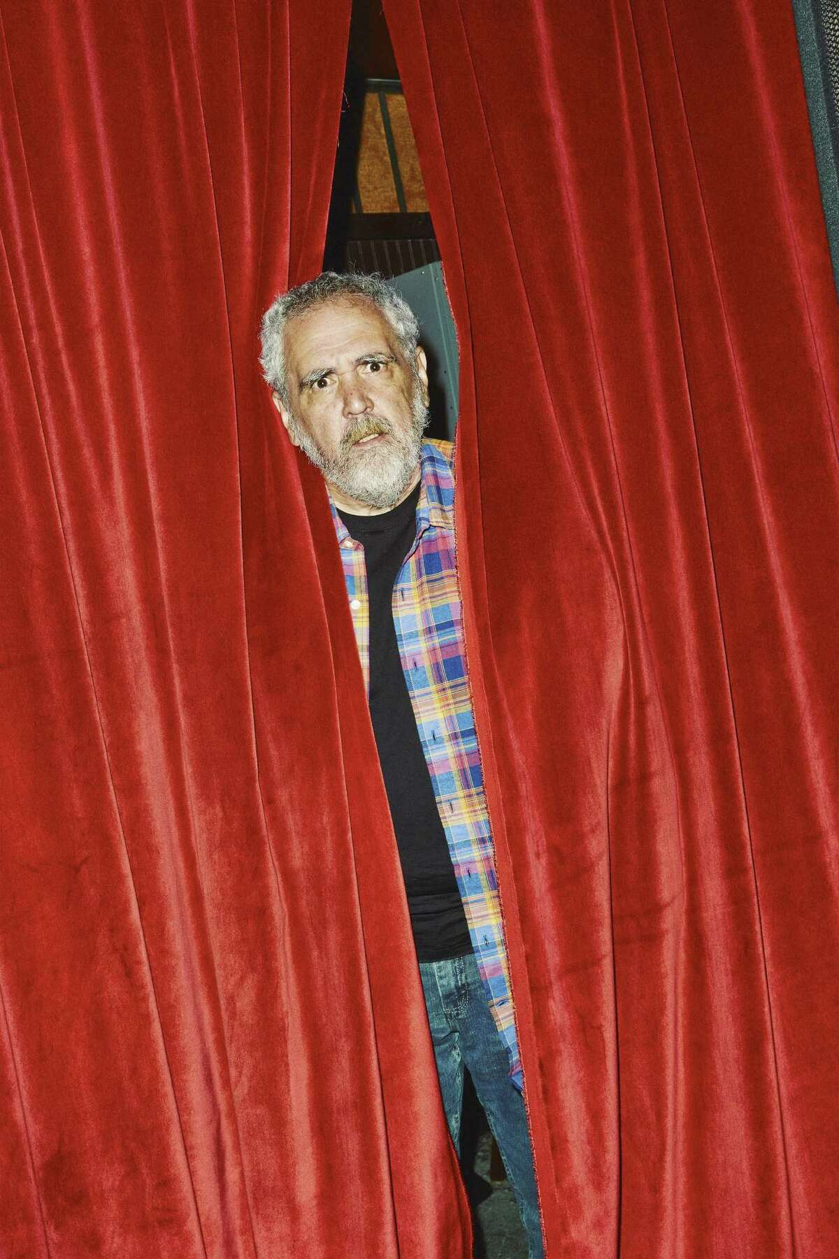 -- PHOTO MOVED IN ADVANCE AND NOT FOR USE - ONLINE OR IN PRINT - BEFORE AUG. 02, 2015. -- Barry Crimmins, a comedian, at Union Hall in New York, June 24, 2015. Crimmins and his longtime friend Bobcat Goldthwait have created a documentary,