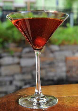 The Mouzon Manhattan at Mouzon House on Friday Sept. 11, 2015 in Saratoga Springs, N.Y.  (Michael P. Farrell/Times Union) Photo: Michael P. Farrell / 00033327A