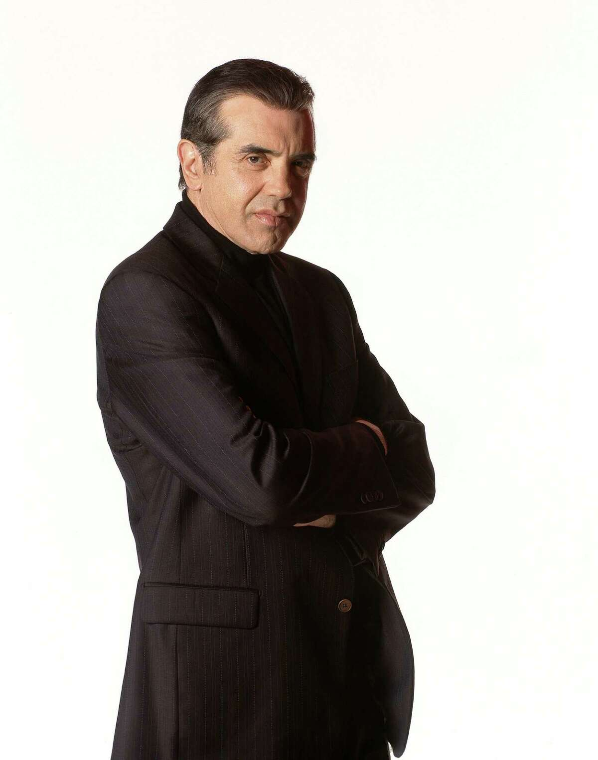 """Chazz Palminteri performs his one-man stage version of the hit movie """"A Bronx Tale,"""" at Ridgefield Playhouse, Friday, Sept. 18."""