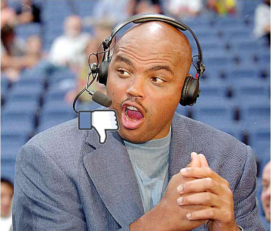 "Anything starting with ""Charles Barkley has a point."" Photo: San Antonio Express-News"