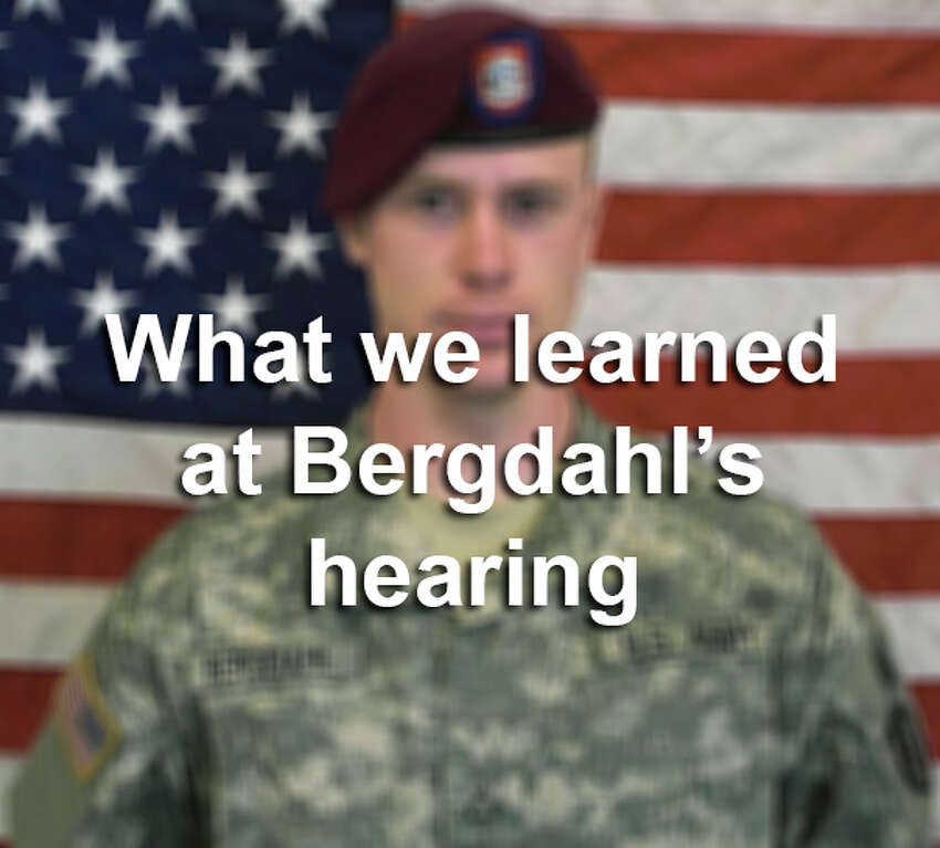 Click through the gallery to see what we learned at Bergdahl's hearing today.