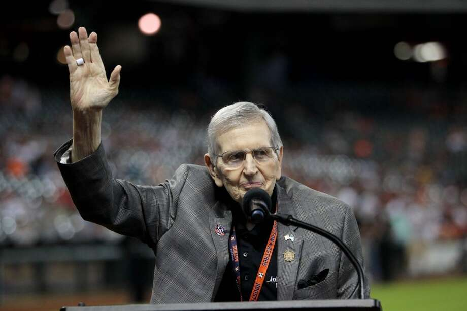 "PHRASE-OLOGY: 37 words and phrases that only Houston sports fans understand""Holy Toledo""The Hall of Fame broadcaster Milo Hamilton was known for yelling ""Holy Toledo"" when calling some of the most memorable moments in the Astros' history. Hamilton died in Sept. 2015.Click through for more... Photo: Gary Coronado, Houston Chronicle"
