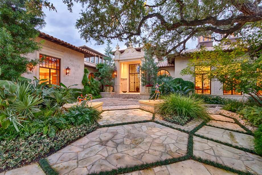 This property in the Hill Country Village is on the market for $17.5 million. It includes nine bedrooms, 12 full bathrooms, four half bathrooms, an art gallery, a yoga room, a catering kitchen, a game room, a massage parlor, a pond and an infinity pool, according to Trulia. Photo: Courtesy, Trulia