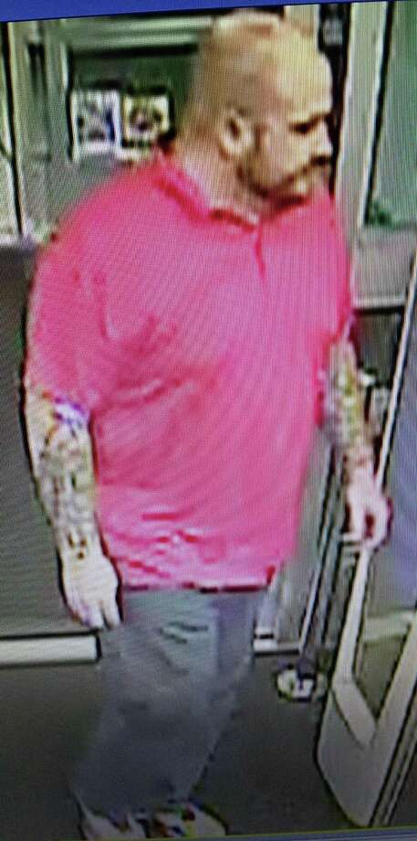 Police are looking for this man who they said stole $361 worth of condoms from a local store. Photo: Contributed Photo / Fairfield Citizen /  Fairfield Citizen contributed